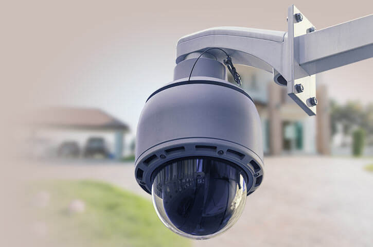 An installed HD video camera system