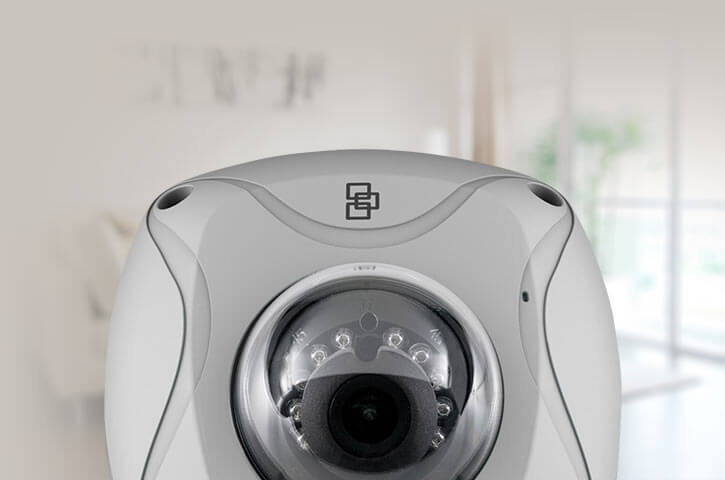 An HD security camera