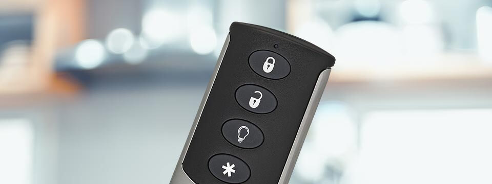 A wireless key fob